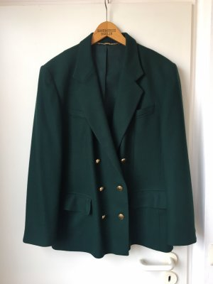 Basler Boyfriend Blazer dark green-gold-colored