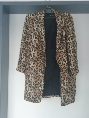 Oversize Blazer im Animal look