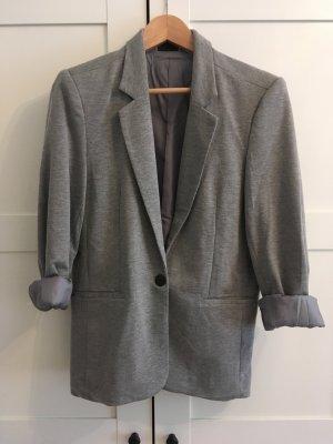 Oversize-Blazer in Grau