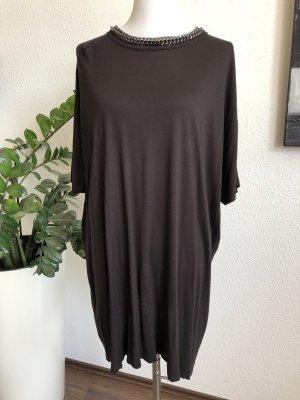 Blouse oversized noir