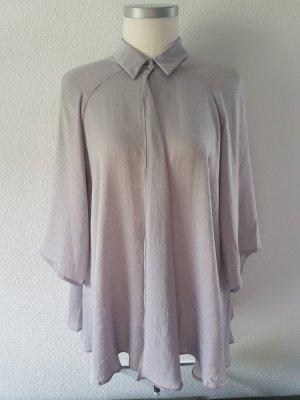 Oversize Bluse aus Satin