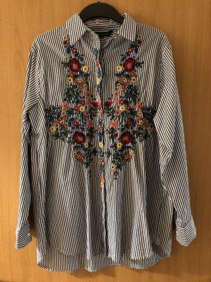 Zara Woman Oversized blouse veelkleurig