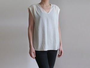 Mexx Blusa ancha blanco-blanco puro Poliéster