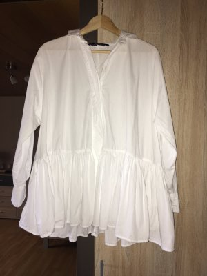 Zara Oversized Blouse white