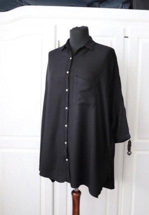 Hollister Oversized blouse zwart