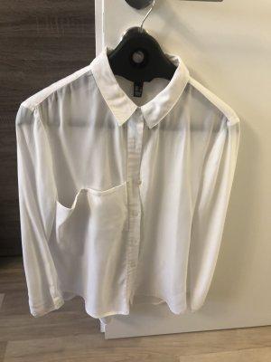Mango Oversized blouse wit