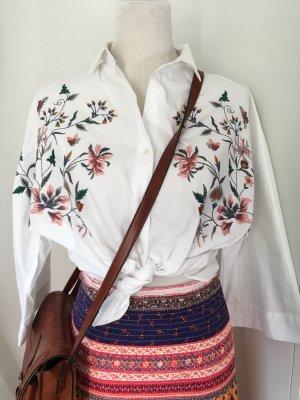 Zara Oversized blouse wit