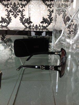 Oversize Brille von Mango, schwarz
