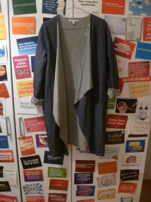 Oversize Cardigan von Tom Tailor, Mantel, Strickjacke, Denim, Boho, Hipster, Blogger, Wasserfall