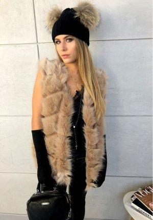 Oversize Fell Jacke Blogger Parka kuschel Mantel Fakfe Fur S-L ( Mütze + Handschuhe verkauf ich auch)