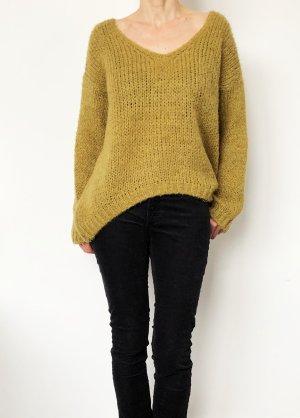 Lindsay Moda Oversized Sweater sand brown