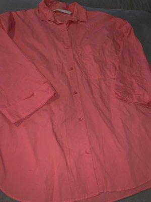 Zara Formal Shirt bright red-salmon
