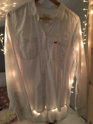 Oversize Hemd aus festem Stoff