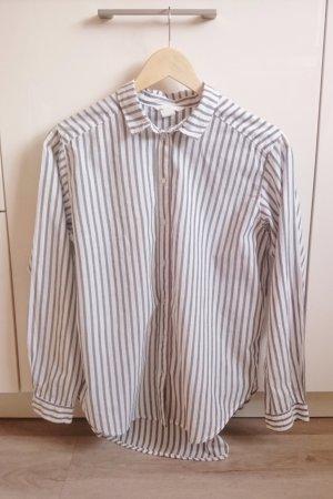 Oversize Hemd beige/weiß Gr. 34