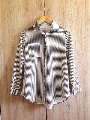 Long Sleeve Shirt black-white