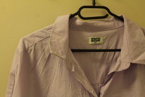 Oversize-Hemd in flieder