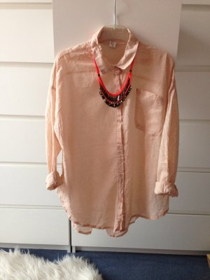Oversize Hemd Rose aus korea NEU