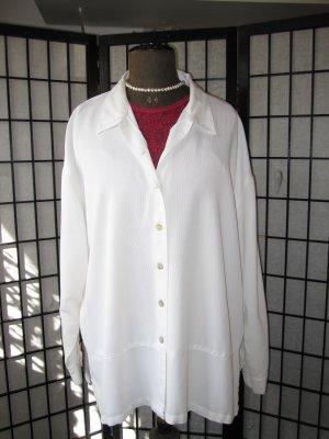Blusa-camisa blanco Algodón