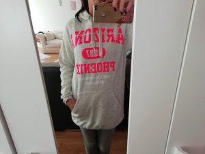 H&M Abito maglione grigio chiaro-rosa