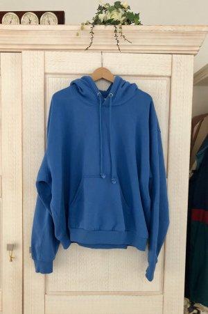 Weekday Oversized Sweater neon blue mixture fibre