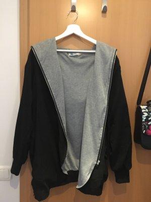 Asos Oversized jack zwart Polyester