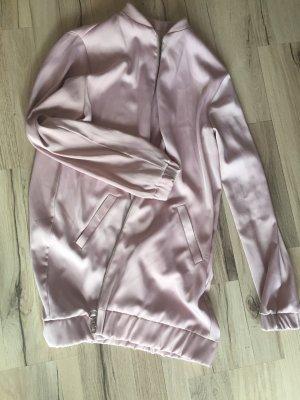 Oversize Jacke rosa