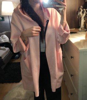 Giacca taglie forti rosa-rosa chiaro