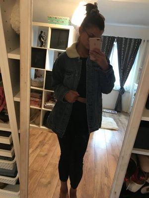 Oversize Jeans Jacke Pull&Bear