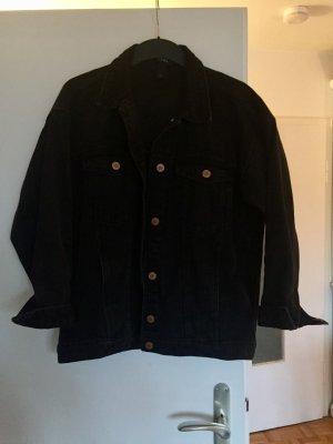OverSize Jeansjacke schwarz