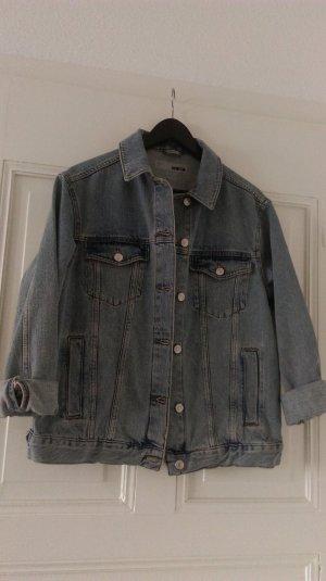 Oversize-Jeansjacke von Topshop, neu