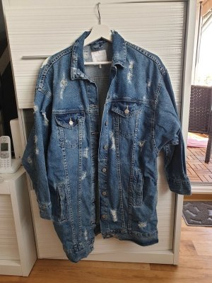 Oversize Jeansjacke von Zara
