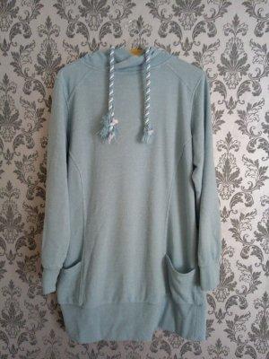 Oversized trui lichtblauw