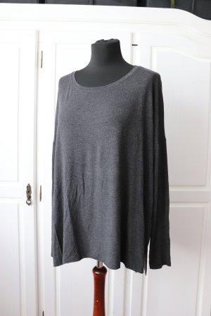 Abercrombie & Fitch Longesleeve grijs-zwart