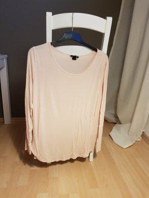 Camicia lunga color carne