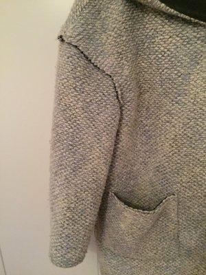 Mango Oversized Jacket white-light grey