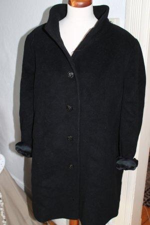 Oversize Mantel Vintage Schwarz Gr, S