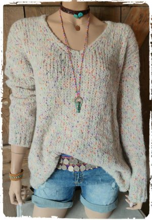 Oversized Sweater natural white