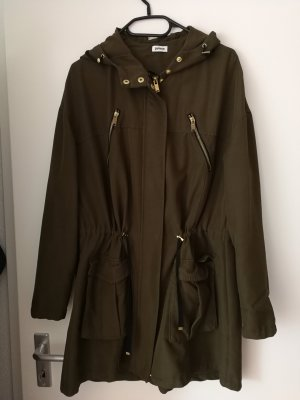 Oversize Parka mit Taille Gr. S