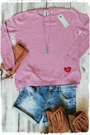 Lolita Oversized Sweater pink viscose