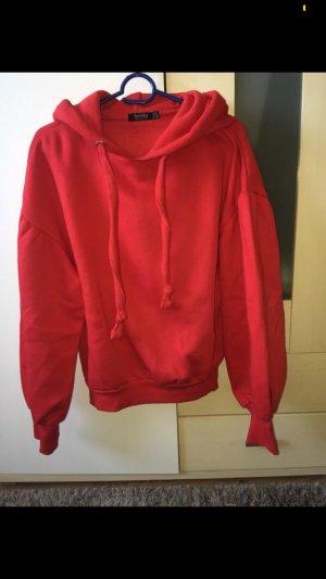 Bershka Jersey holgados rojo