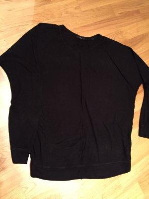 Oversize Pullover 38, Strick, dünn, von Opus, schwarz