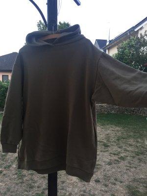 Rockamora Maglione oversize cachi-grigio-verde