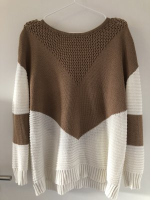 Oversized Sweater camel-cream