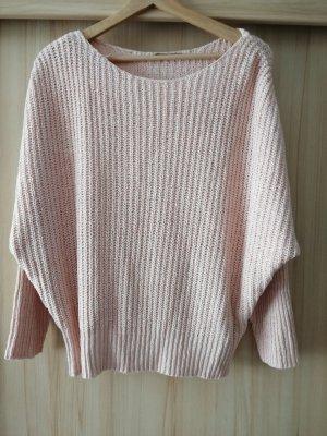 Orsay Maglione di lana color oro rosa-albicocca