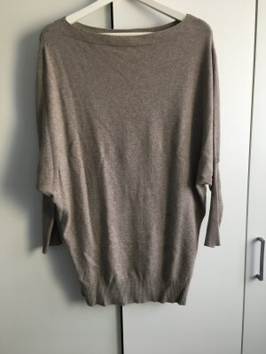 Oversize Pullover beige