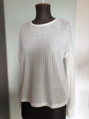 Zara Pull oversize blanc