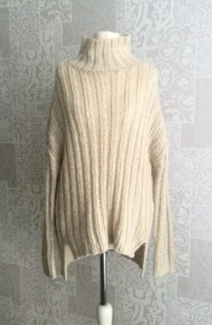 Oversize pullover gr. Xs nude