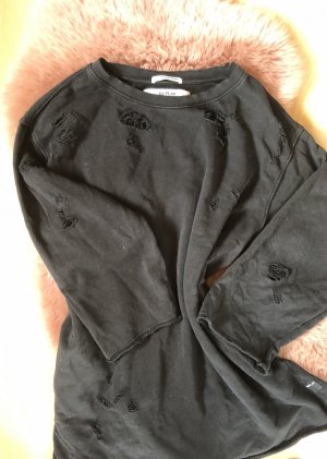 Oversize Pullover im Destroyed-Look, Gr. S