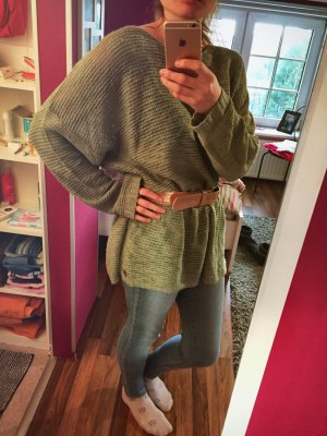 Oversize Pullover in mint