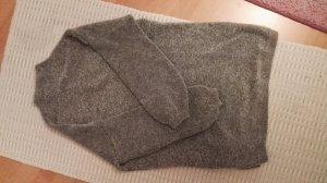 Stradivarius Vestido tipo jersey gris